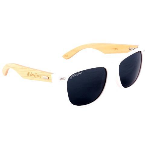 Gafas lentes de sol palmtree fresh spirit blanco white uv400