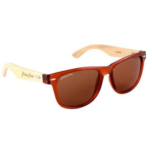 Gafas lentes de sol palmtree fresh spirit cafe madera uv400