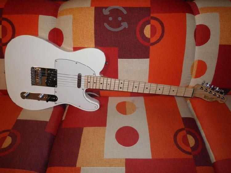 Guitarra squier by fender tele affinity como nueva