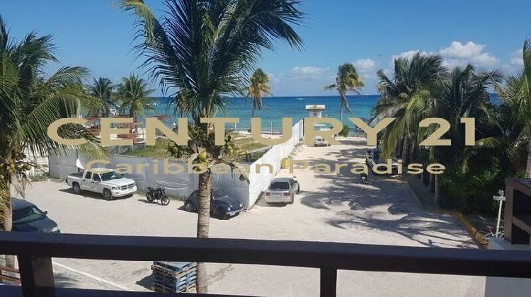 Hermoso departamento en frente del mar, playa del carmen