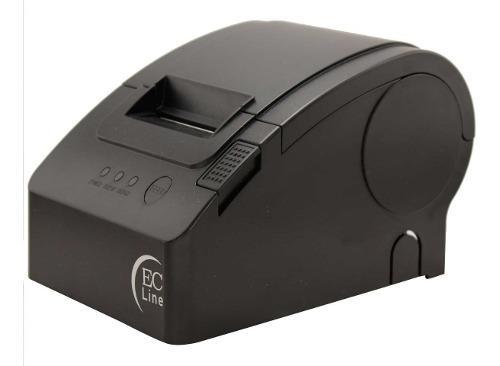 Impresora termica mini printer ec line usb 58mm ec-pm-58110