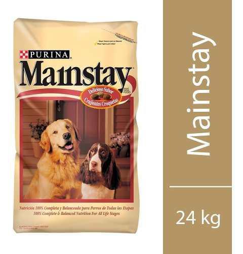 Mainstay alimento perro bulto 24 kg