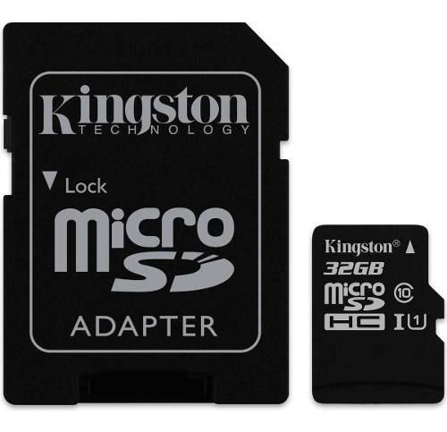 Memoria micro sd 32gb clase10 kingston sdcs/32gb nuevo