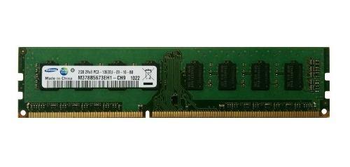 Memoria ram pc ddr3 2gb 1333mhz pc3-10600u varias marcas