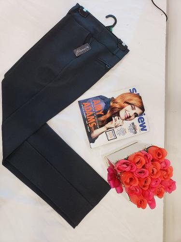 Pantalon de vestir negro, azul m, cafe, gris marca glamur