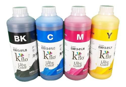 Tinta tipo durabrite marca inktec para epson 1 litro