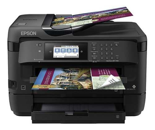 Ultima impresora epson workforce wf-7720 wireless wideformat
