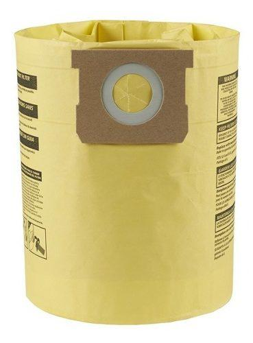 Bolsa para aspiradora tablaroca 5-6-8 gal vacs 2 pz shop vac