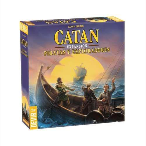 Catan expansión piratas y exploradores en español