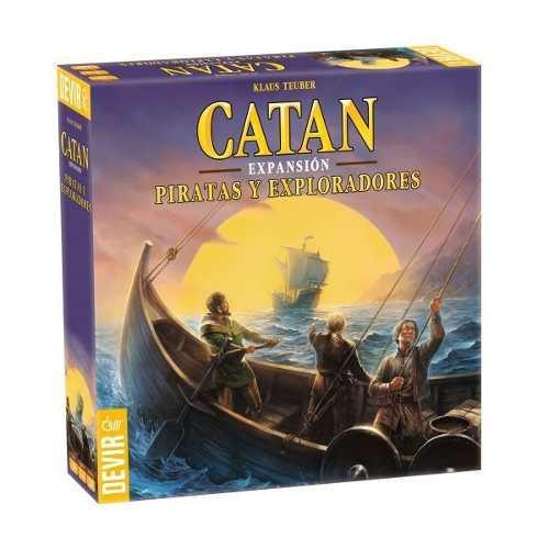 Catan expansión piratas y exploradores juego de mesa