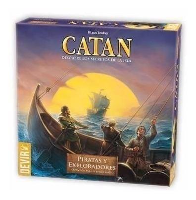 Catan piratas y exploradores expansion - envío express