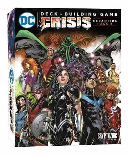 Dc comics deckbuilding game: crisis expansion pack 4