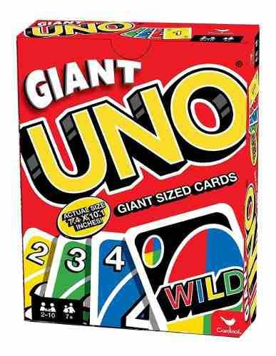 Juego de mesa uno gigante cartas envio gratis