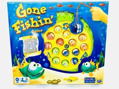 Juego pesca clasico gone fishin español spin master
