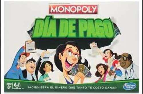 Monopoly día de pago juego de mesa