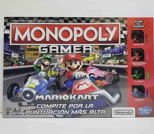 Monopoly gamer mario kart nintendo nuevo español envio