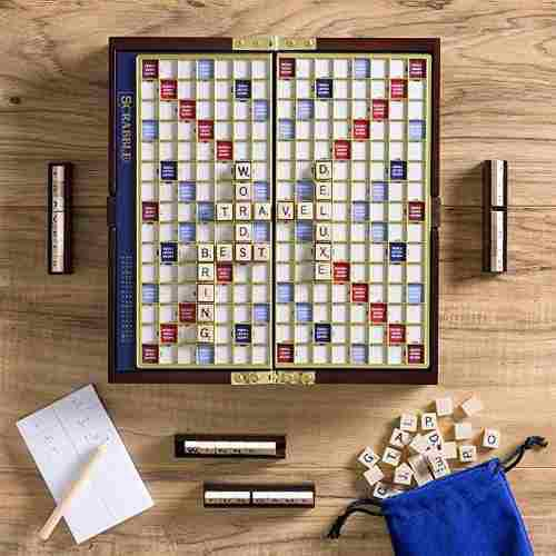 Scrabble viajes edición de lujo