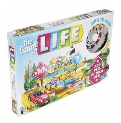 The game of life juego de mesa cartas **original** hasbro