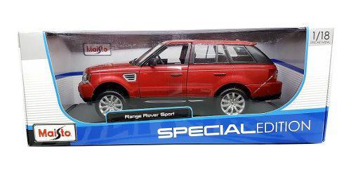 Autos escala 1:18 range rover sport maisto carros coleccion