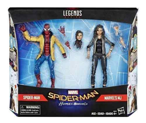 Marvel e5271 marvel legends spiderman home-coming 2 pack: sp