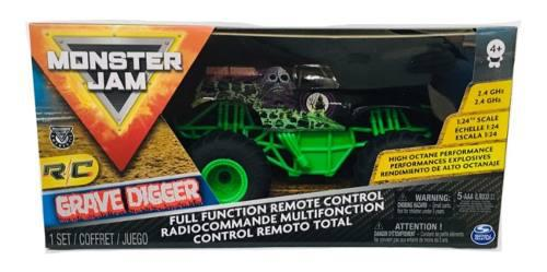 Monster jam radio control grave digger spin master