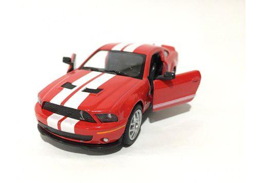 Mustang shelby gt 500 2007 rojo 13cm kinsmart kt5310d 1:38