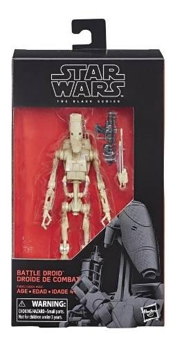 Star wars e4085 figura star wars black series battle droid j