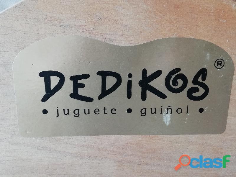 JUGUETE DIDÁCTICO GUINOL TEATRO DE MADERA 1
