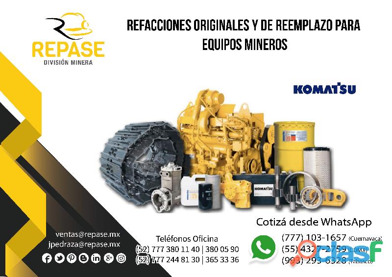 Refacciones para equipos mineros