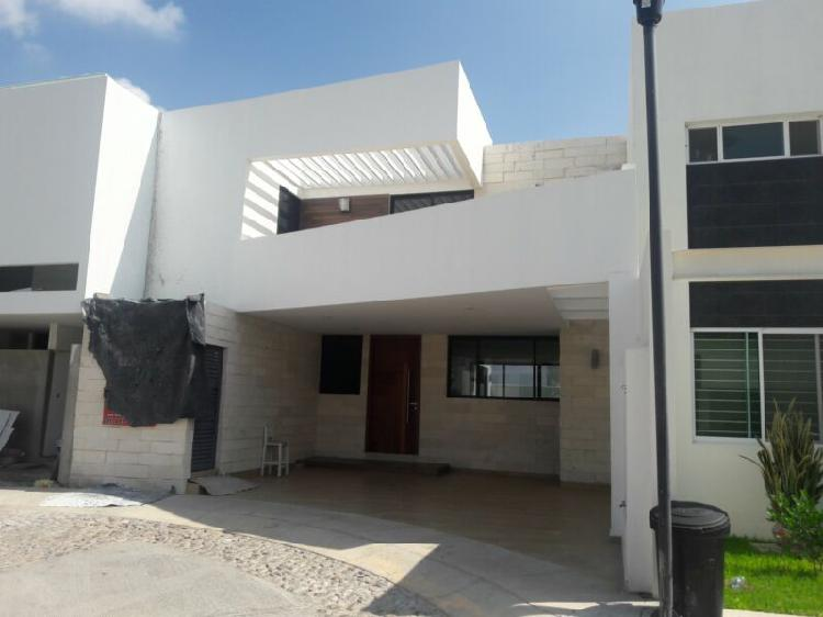 Casa nueva en sur pte aguascalientes, condominio