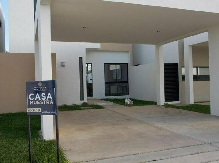 Casa en privada zensia (mod.b) conkal, mérida yucatán /