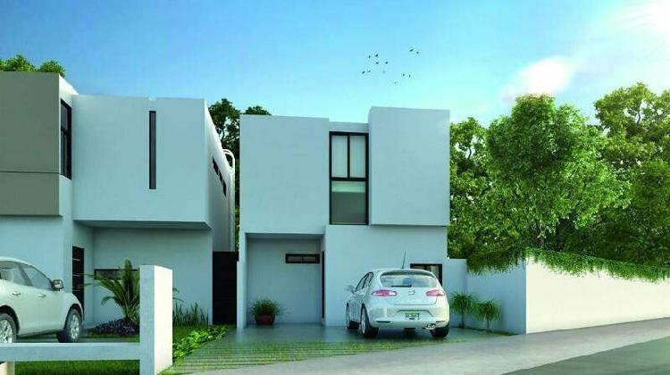 Casa en privada zensia (mod.f) conkal, mérida yucatán /