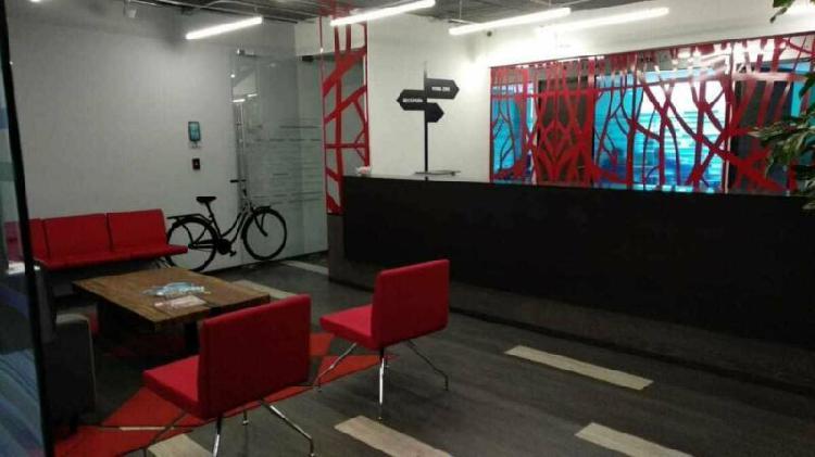 Exclusivas oficinas equipadas con todos los servicios para 5