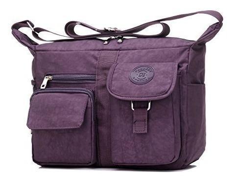Fabuxry bolsos de hombro para mujer bolso de viaje informal