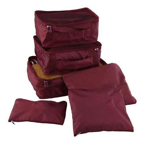 Viajes bolsas ligero viajes equipaje 6pcs / set hombres y