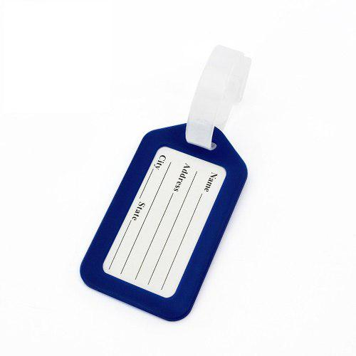 Viajes equipaje bolsa etiqueta plástico maleta oficina nomb