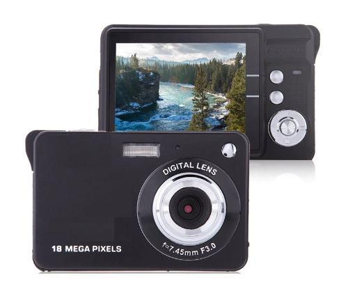 Camara digital tipo nikon 21mp 2.7 zoom8x hd + funda gratis
