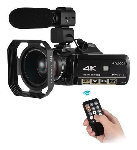 Videocámara digital andoer ac3 con video 4k
