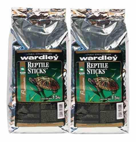 Alimento tortugas reptile sticks caja con 2 pz nueva imagen