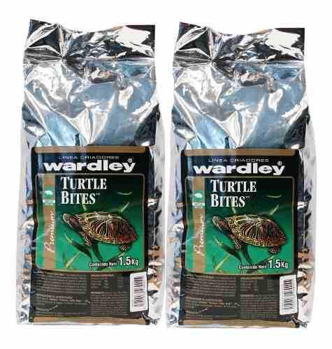 Alimento tortugas turtle bites 1.5 kg caja de 2 piezas