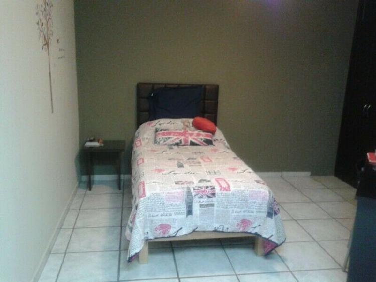 Rento habitaciones amuebladas para señoritas a dos cuadras