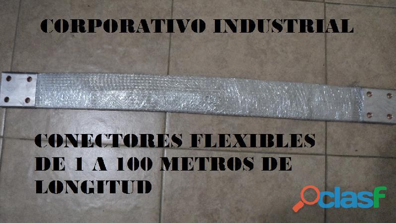 trenza flexible de aluminio