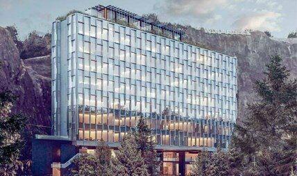 Excelente oficina en renta desde 340 m2 en santa fe.