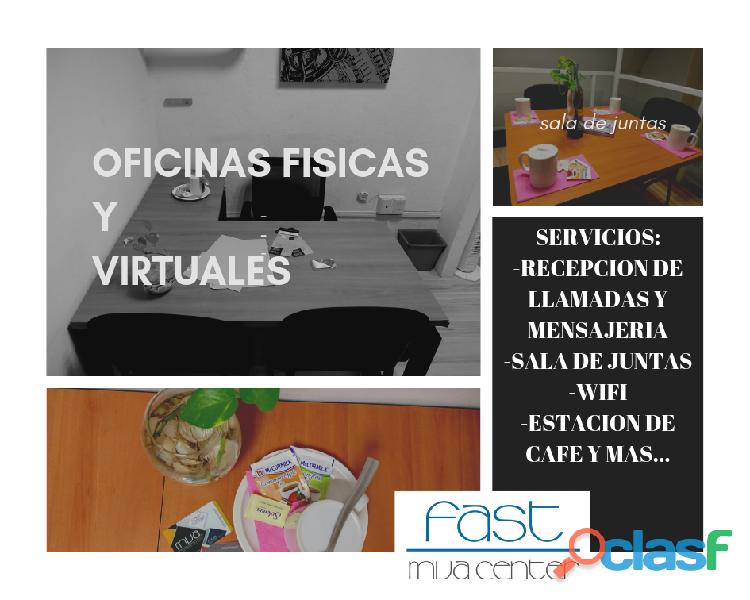 Oficinas virtuales con promocion
