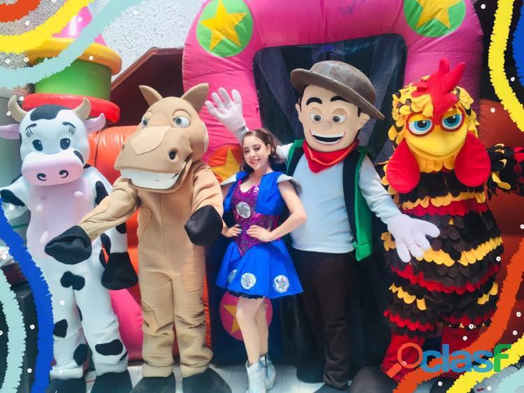 Show infantil de la granja de zenon en cdmx