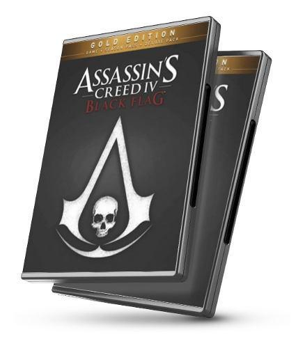 Assassins creed iv black flag edición oro - juegos pc