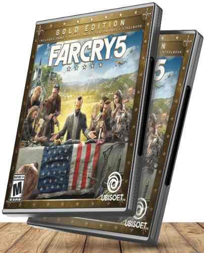 Far cry 5 gold edition pc + zombies - juegos pc