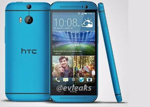 Htc one m7 azul