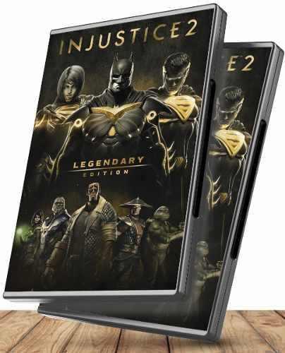 Injustice 2 edicion legendaria completa + dlcs - juegos pc