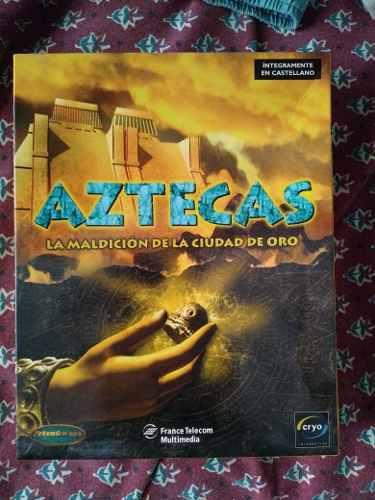 Juego pc- aztecas- la maldicion de la ciudad de oro
